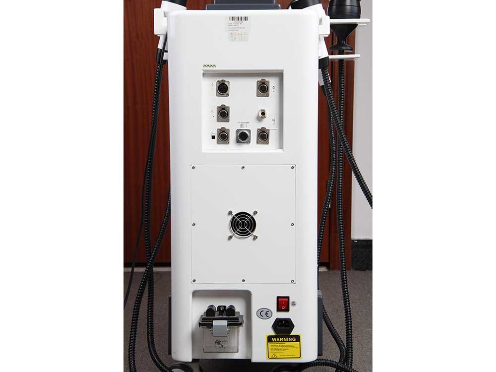 rf cavitation machine back