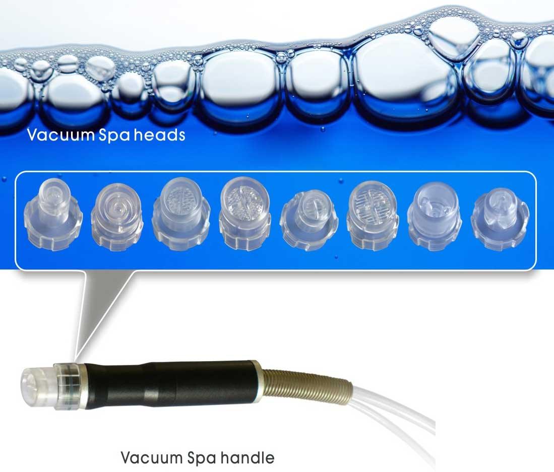 hydradermabrasion handpieces