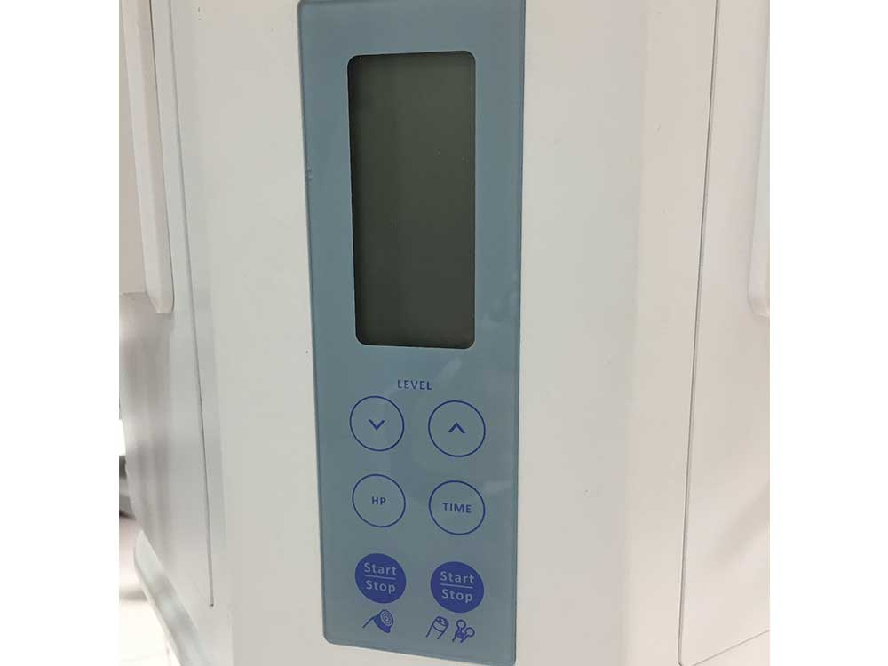 the hydrafacial equipment front panel
