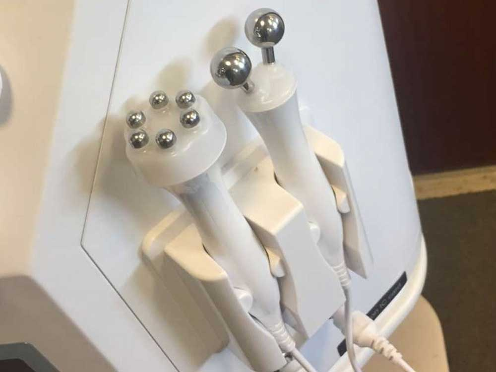bio & iontophoresis handpieces for hydrafacial facial machine