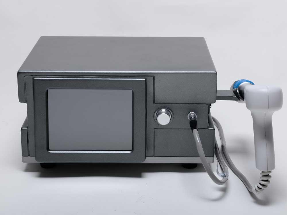 shockwave therapy platform for bone spurs