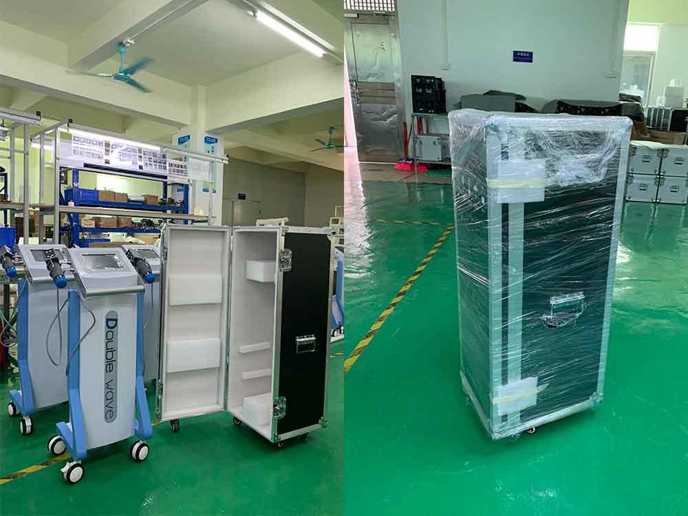 eswt machine packed in aluminum case