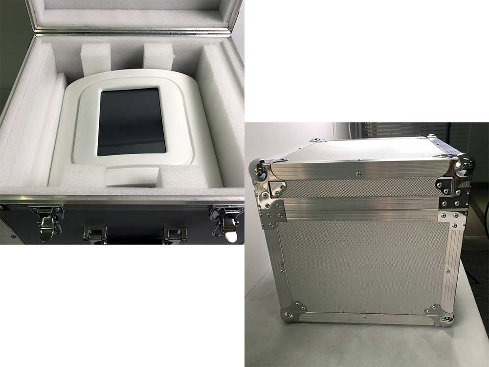 shockwave therapy machine aluminum package