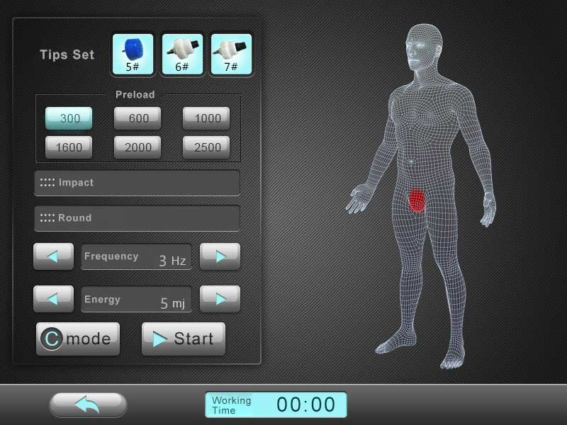 CoolWave ED interface