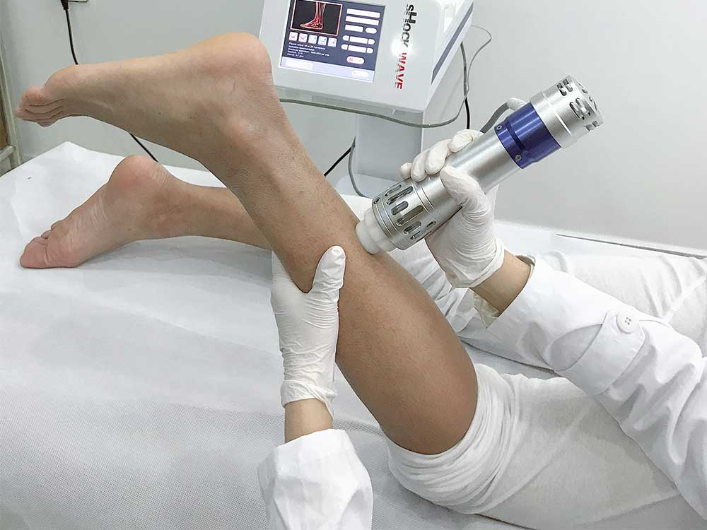 eswt extracorporeal shock wave therapy machine operation