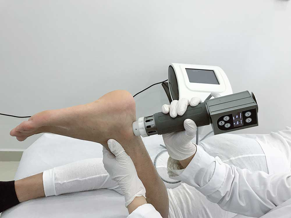shockwave therapy machine operation