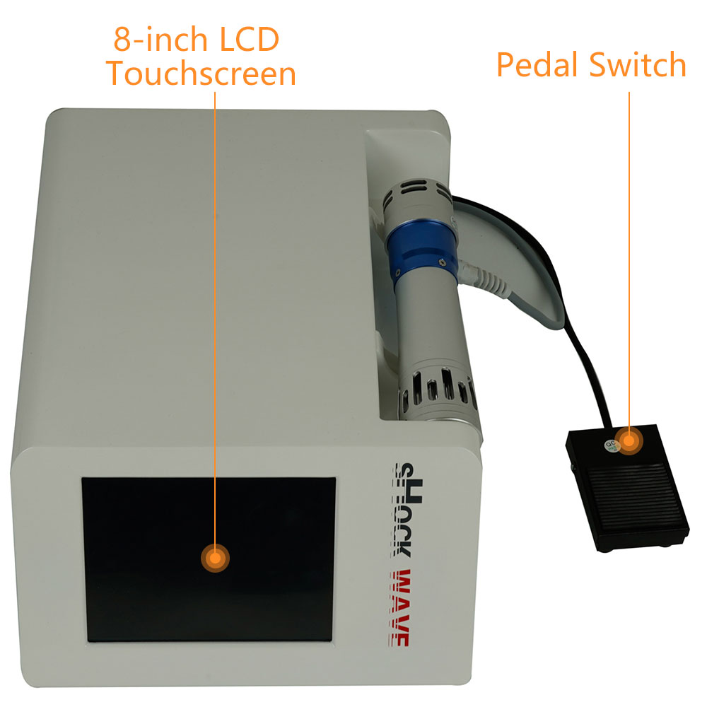 eswt extracorporeal shock wave therapy machine