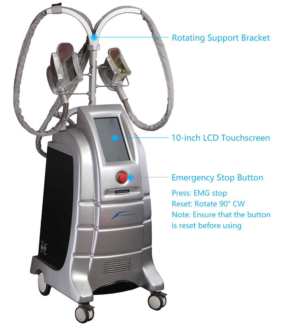 coolsculpting machine front