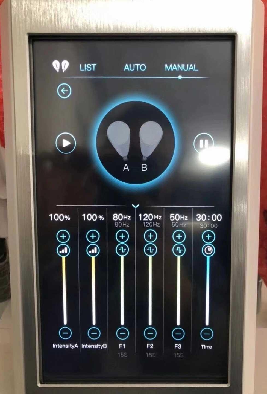 hifem machine screen